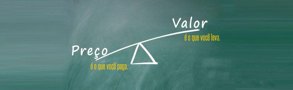 Você sabe a diferença entre preço e o valor percebido dos seus produtos?