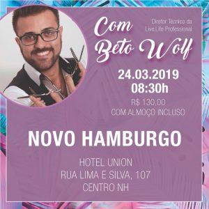 Tendências de Cortes, Mechas e Cores 2019 @ NOVO HAMBURGO / RS